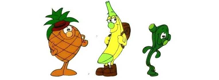 los fruitis dibujos animados