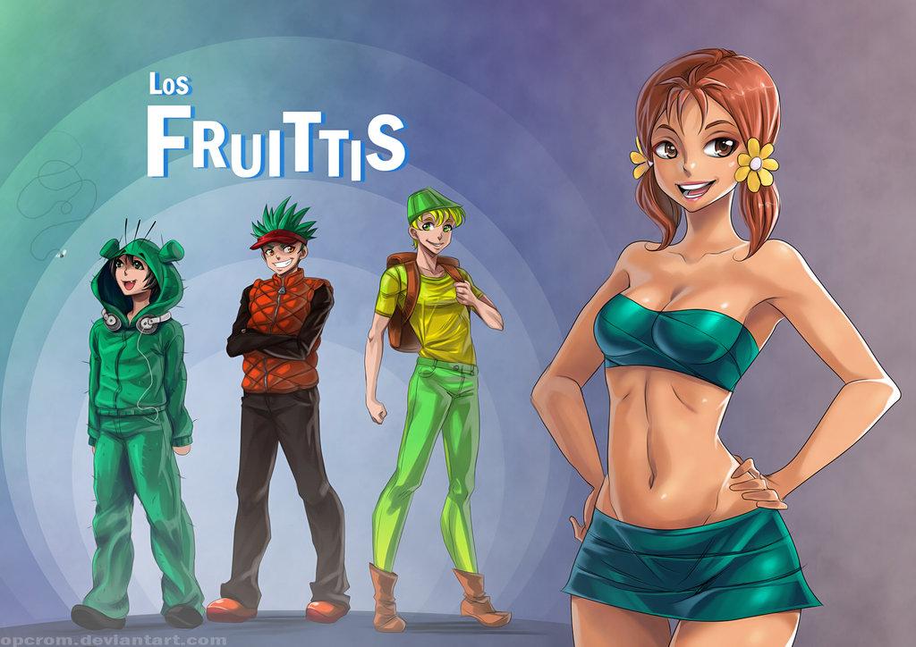 los fruitis personas reales